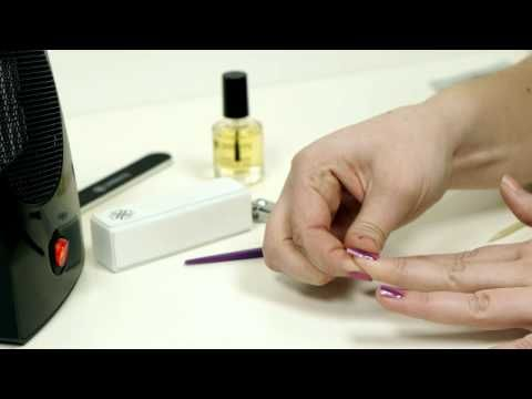 Jamberry Nails Application Tips & Tricks - YouTube