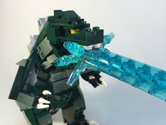 LEGO Godzilla has atomic halitosis