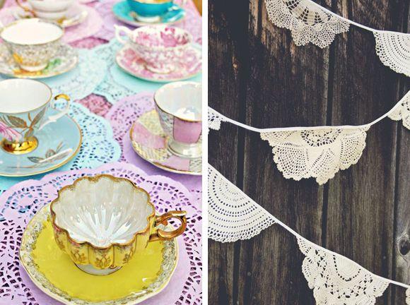 Dawn Of The Doilies DIY Wedding Decorations