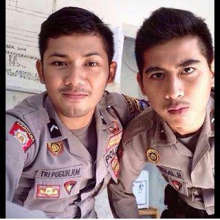 POLISI Tampan Indonesia