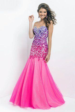 Blush pink prom dresses 2014