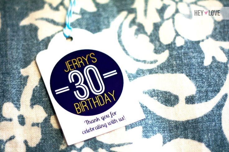 30th birthday favor tags: Minis Liquor Bottle, 80Th Bday, 35Th Birthday, Tags Words, Favor Tags, Favors Tags, Heather Birthday, 30Th Birthday Favors, Design
