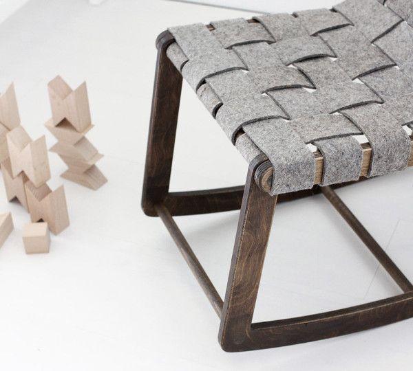 Modern Rock: AMM Childrens Rocking Chair