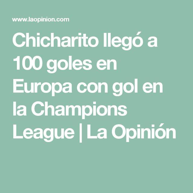 Chicharito llegó a 100 goles en Europa con gol en la Champions League | La Opinión