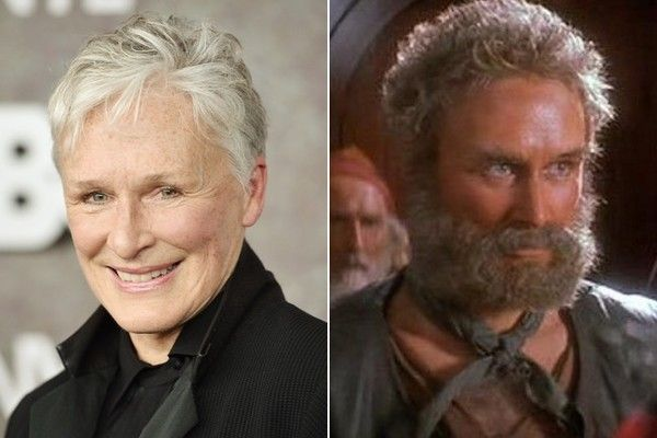 Glenn Close in 'Hook' - Actors Who Are Unrecognizable in Costume - Photos