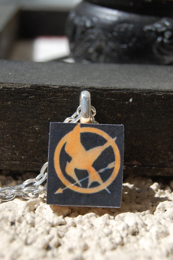 $6 Mockingjay Pendant