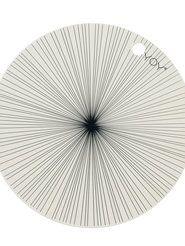 Bordstablett Circle Stripe 2-pack - OYOY