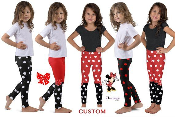 Disney Minnie Girls Leggings