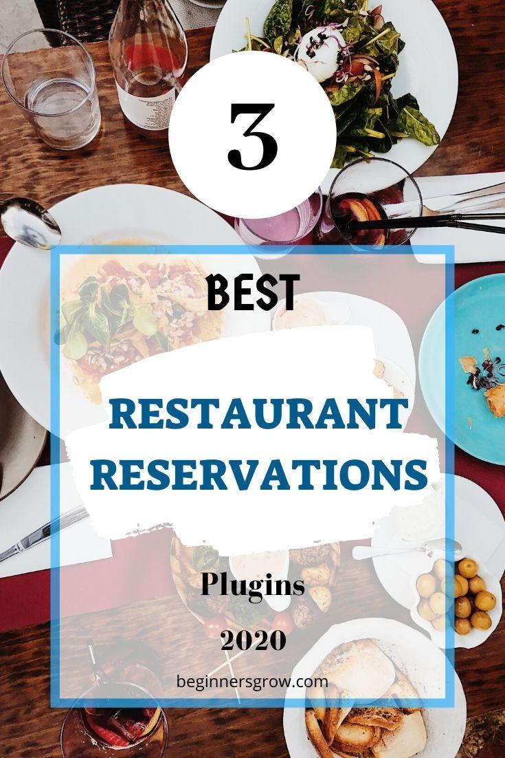 3 Best Restaurant Reservations Plugin 2020 In 2020 Restaurant Wordpress Themes Restaurant Themes Restaurant Reservations