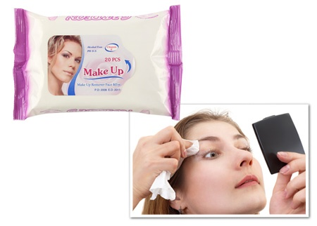 Make Up: Makyaj Temizleme Mendili 4,90 TL