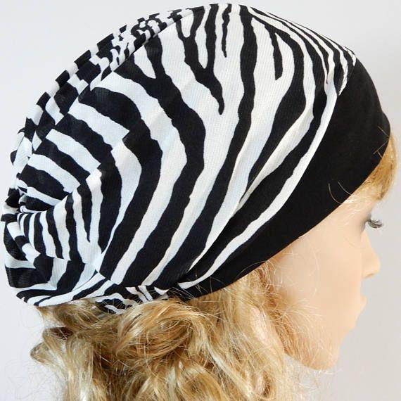 Summer beanie hat women Neck scarf Summer slouchy hat Ponytail