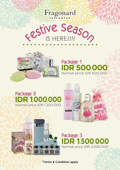 2014 July design for FRAGONARD Indonesia. @LovelyDay Story