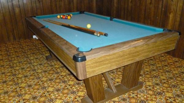 Brunswick Windsor VIP Pool table 7ft. 1200.00 | Projects