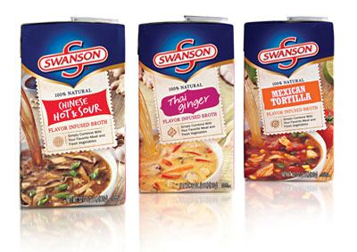 Swanson Broths- American Package Design Awards 2014 by GDUSA