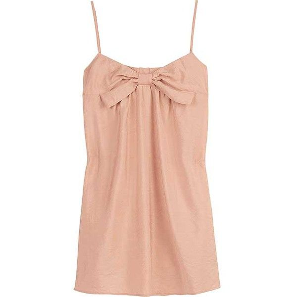 12th Street by Cynthia Vincent Bow-front camisole top (1.475 ARS) ❤ liked on Polyvore featuring tops, tanks, shirts, camisoles, tank tops, spaghetti strap tank top, red top, bow shirt, red cami and rayon shirts