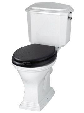 Les-Campagnoles.dk - Klassiske toiletter: Astoria Deco Toilet med Fast Cisterne
