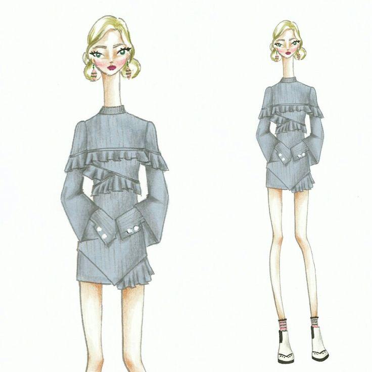 Wonderland (8) Fashion sketch