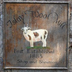 Islay-Woollen-Mill-Sign