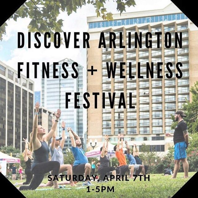 Were super excited to be participating as one of the food vendors at the @Discoverarlington Fitness  Wellness Festival! The event will have a variety of the areas best fitness studios food drinks and other wellness treatments- you dont want to miss this! For more info and to grab your ticket check out the link in @discoverarlingtons bio