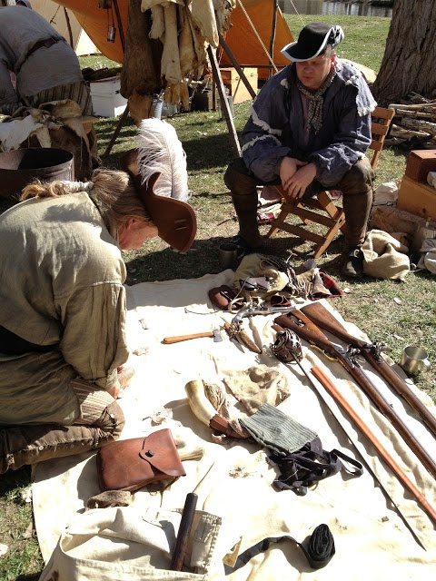 Things to do in Ogden, Utah.  Husband and Harmony.  Mountain Man Rendezvous