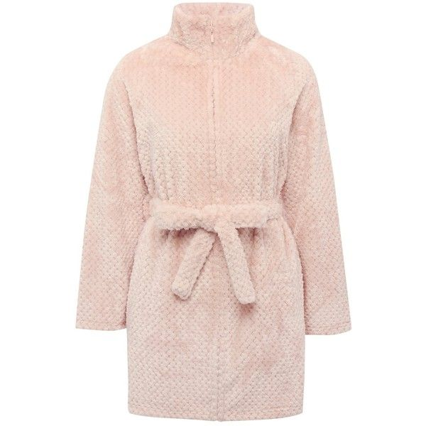 M&Co Shimmer Fleece Zip Robe ($34) ❤ liked on Polyvore featuring intimates, robes, pink, plus size, fleece bathrobe, womens plus size bathrobes, zippered bathrobe, plus size zip robe and plus size bathrobes