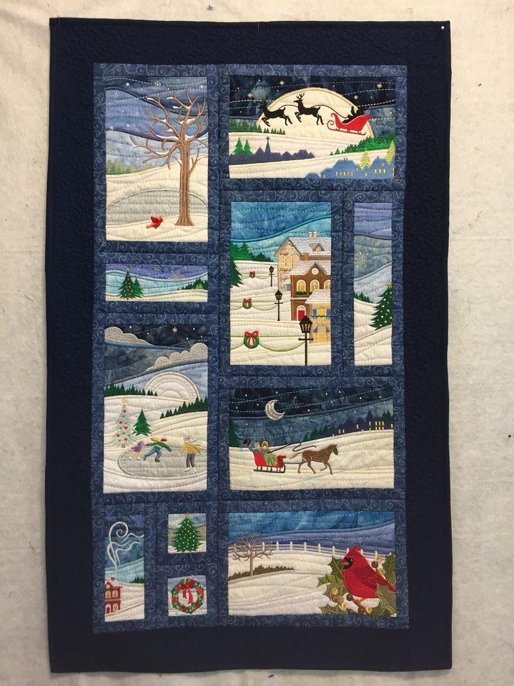 Anita Goodesign Christmas Landscape