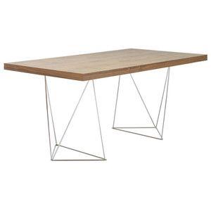Pracovní/jídelní stůl Trestle, délka 160 cm, dekor ořechu