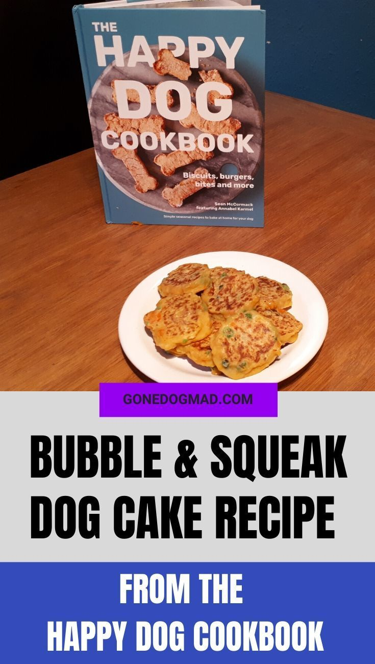 Bubble Squeak Dog Cakes From The Happy Dog Cookbook Dog Cake