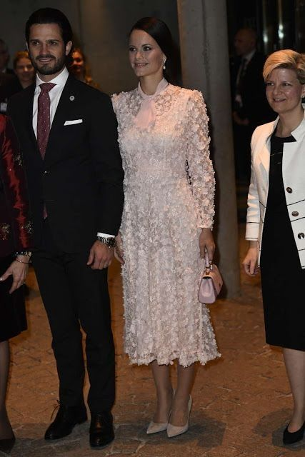 Princess Sofia of Sweden.. Ida Sjöstedt dress, and Dolce & Gabbana purse..... - Celebrity Fashion Trends