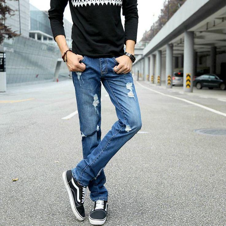 ripped jeans for men dsq male pants levy boys 2017 cheap biker denim designer hip hop overalls baggy fashion push up hole  jeans #Affiliate