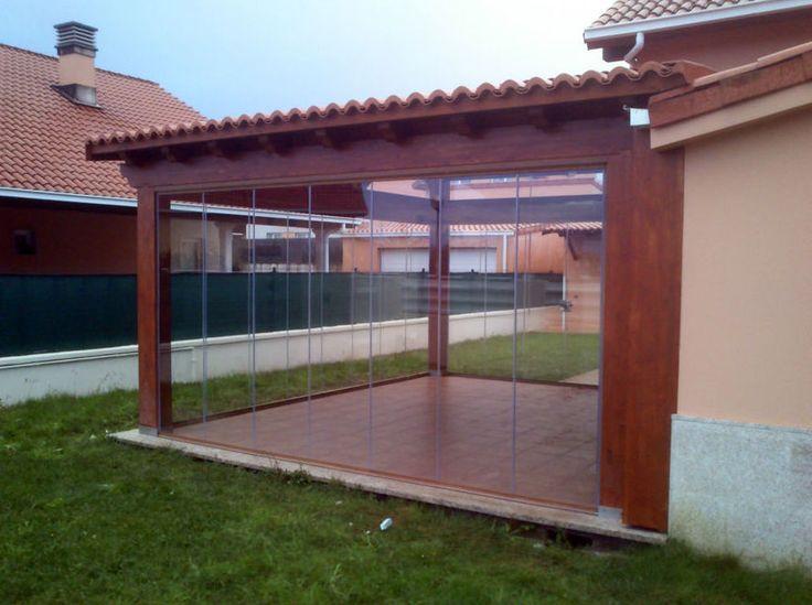 1000 ideas sobre cercas de patio trasero en pinterest - Porches de madera cerrados ...