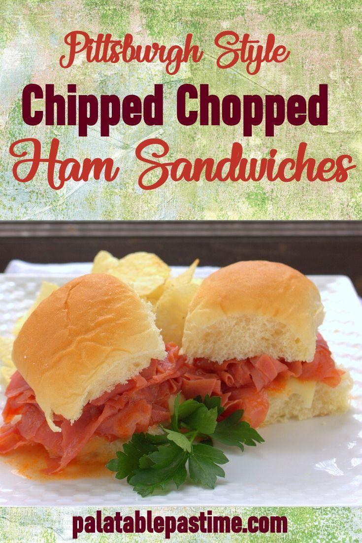 chip chop ham recipe Chipped Chopped Ham Sandwiches
