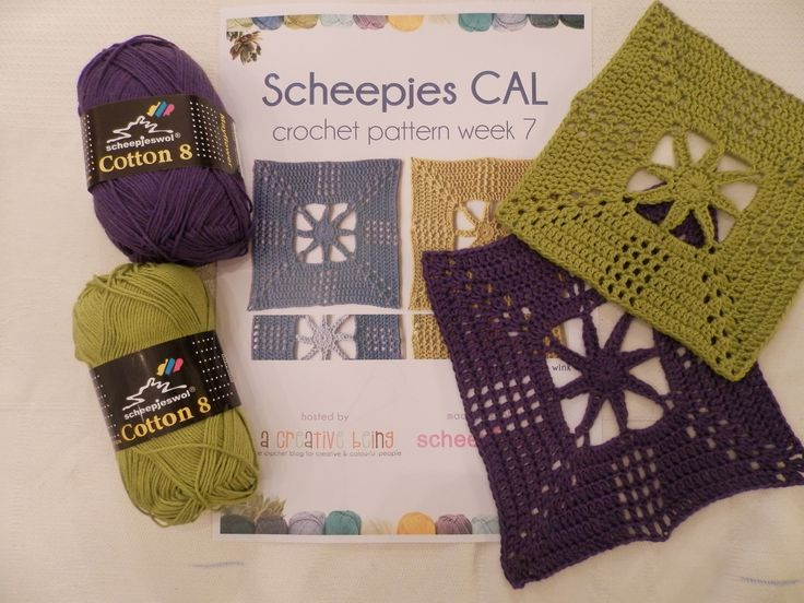 Step-by-step instructions of week 7 of the Scheepjes Crochet ALong 2014. The…