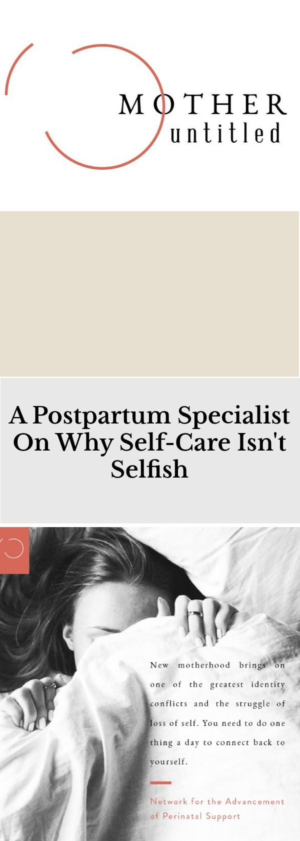 The team is working to change the high incidence of untreated postpartum illness by integrating maternal health care functions including assessment and intervention programs into OB offices, midwifery groups and fertility clinics. Golzar shares her thinking that taking good care of a mother's mental health begins with the basic principles of self-care.  #selfcare #motherhood