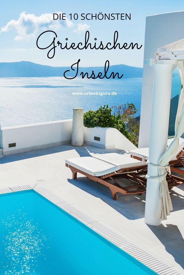 Die griechischen Inseln sind einfach wunderschön. Ich habe dir die 10 schönsten …   – Reisen in Europa