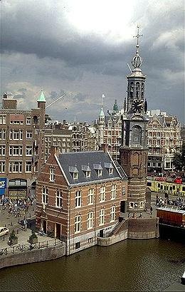 Munttoren by Hendrik de Keyser ,Amsterdam