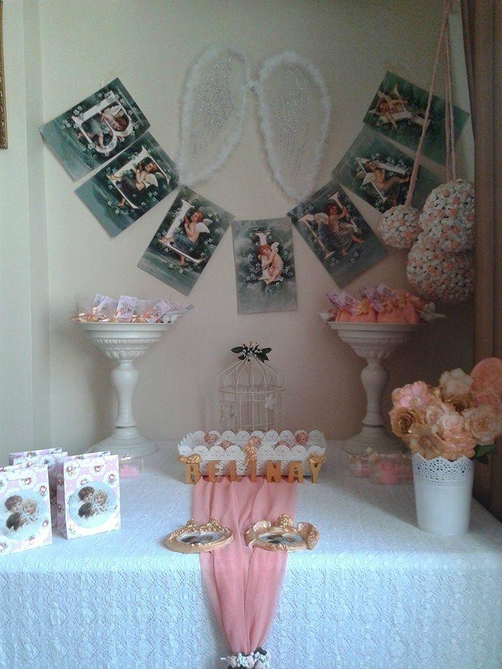 FOTOĞRAFLAR - www.hanieldavetveorganizasyon.com Hello angel baby shower ideas Hoş geldin melek bebeğim kutlaması,hastane odası süsleme
