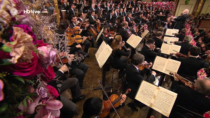 Vienna Philharmonic New Year's Concert 2014 Full (HD)  This is last years performance.  If you've never seen it and want this year's to be a surprise,, don't watch this :)  I wonder who the guest conductor will be this year..?