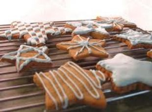 Christmas Wishing Cookies are a Swedish spice cookie with a tradition...Place the cookie in the palm of your left hand and press down on it with the thumb of your right hand. If the cookie breaks into 3 pieces and you can eat all three pieces without saying a word, you get to make a wish.