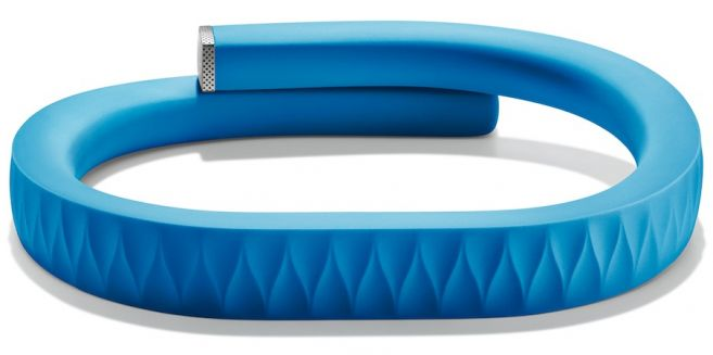 So cool! -- This bracelet syncs to your iphone or android. It keeps track of your movements, sleep pattern, calories burned, and even vibrates if you have been sitting still for too long!  A perfect way to keep track of your healthy lifestyle!