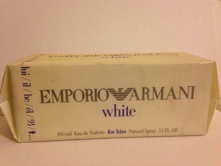 PROFUMO ARMANI EMPORIO WHITE FOR HIM UOMO 100ML EDT MAN REGALO OCCASIONE