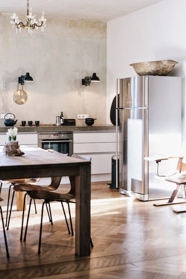 via my scandinavian home // kitchen