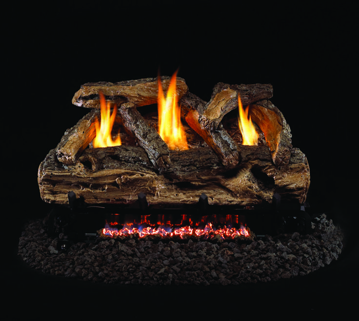 Ventless gas logs and Bonfire pits