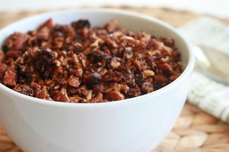 Grain Free Chocolate Granola (Paleo)