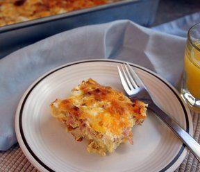 Bacon Hashbrown Breakfast Casserole Recipe