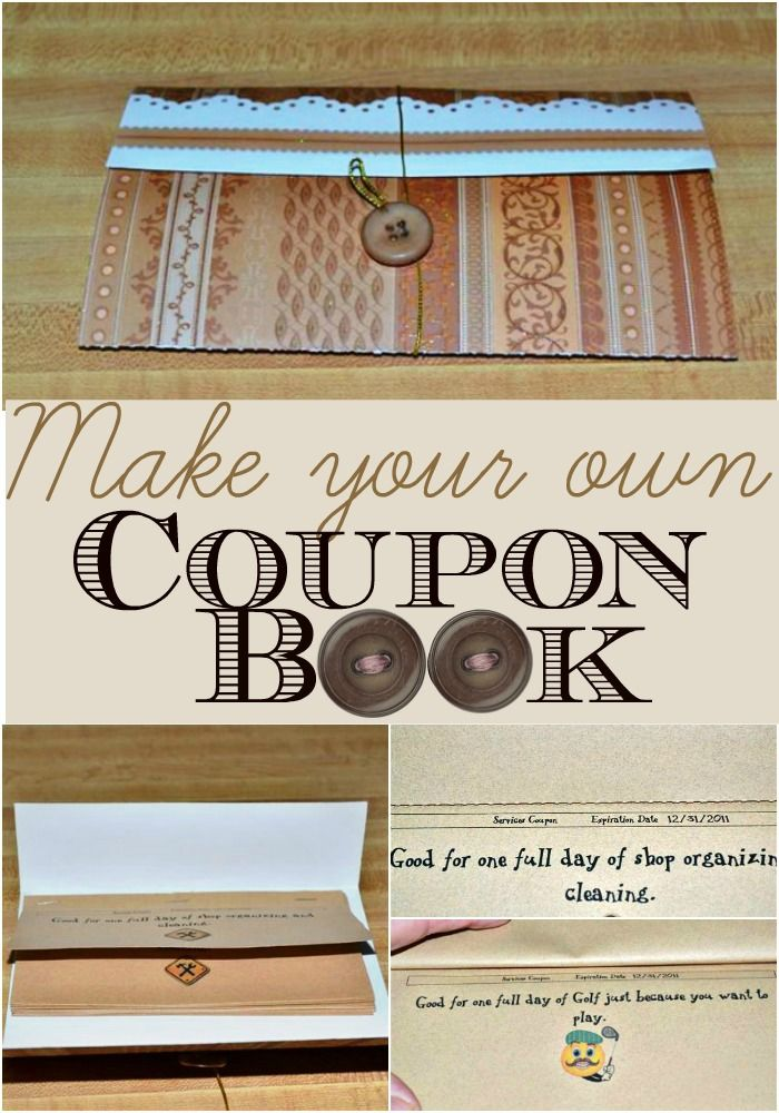 make you own coupons