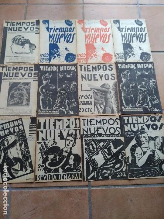GUERRA CIVIL - ANARQUISMO - TIEMPOS NUEVOS - AÑO COMPLETO 1935 / ILUSTRADAS - Foto 1
