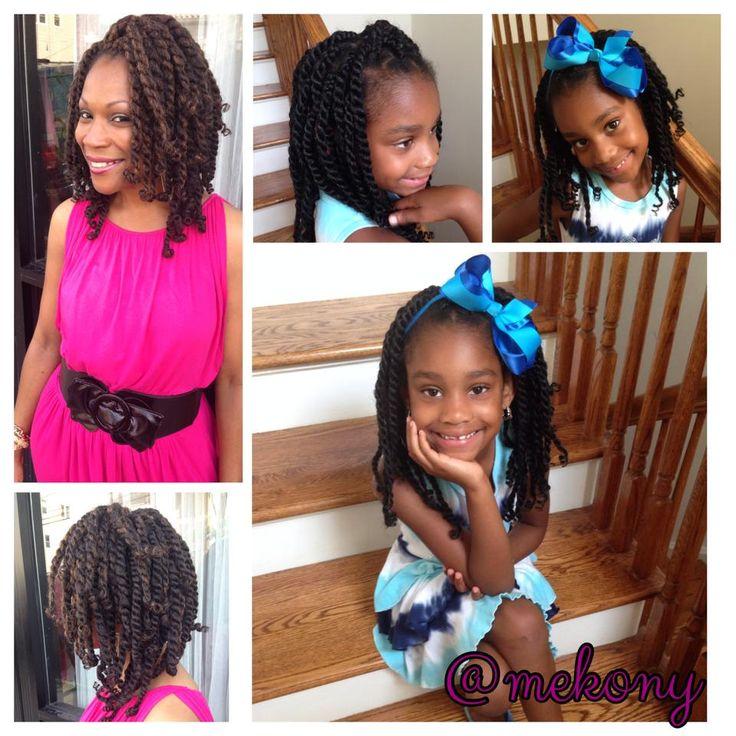 Summer hairdo : Twist | Natural Hairstyles | Pinterest
