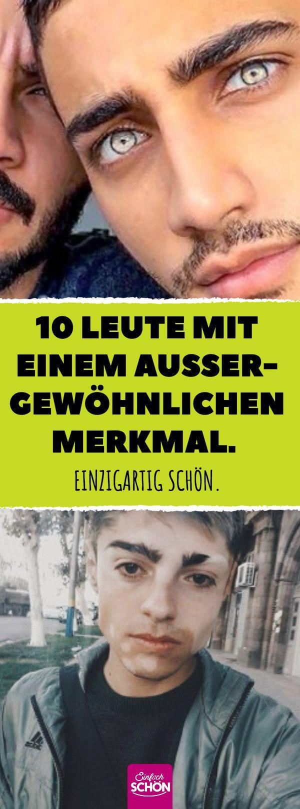 10 Leute mit einem außergewöhnlichen Merkmal. #außergewöhnlich #schön #sch…