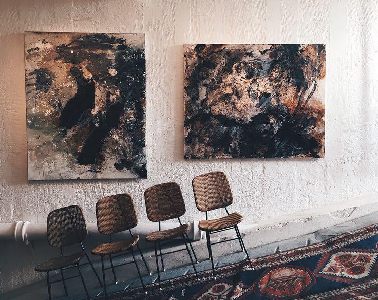 Sackarias Luhanko Abstract Art - Dusty Deco